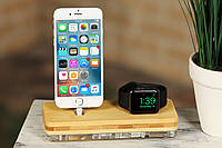 Док-станция ATIKgroups Bamboo 2 |Зарядка для Наушников Airpods iPhone iPad Apple Watch Подставка для Айфон
