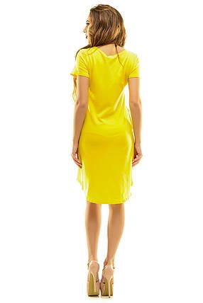 Платье 410  желтое, фото 2