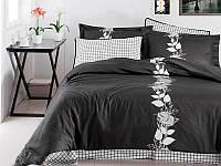 Комплект постельного белья First Choice сатин люкс Artemis siyah