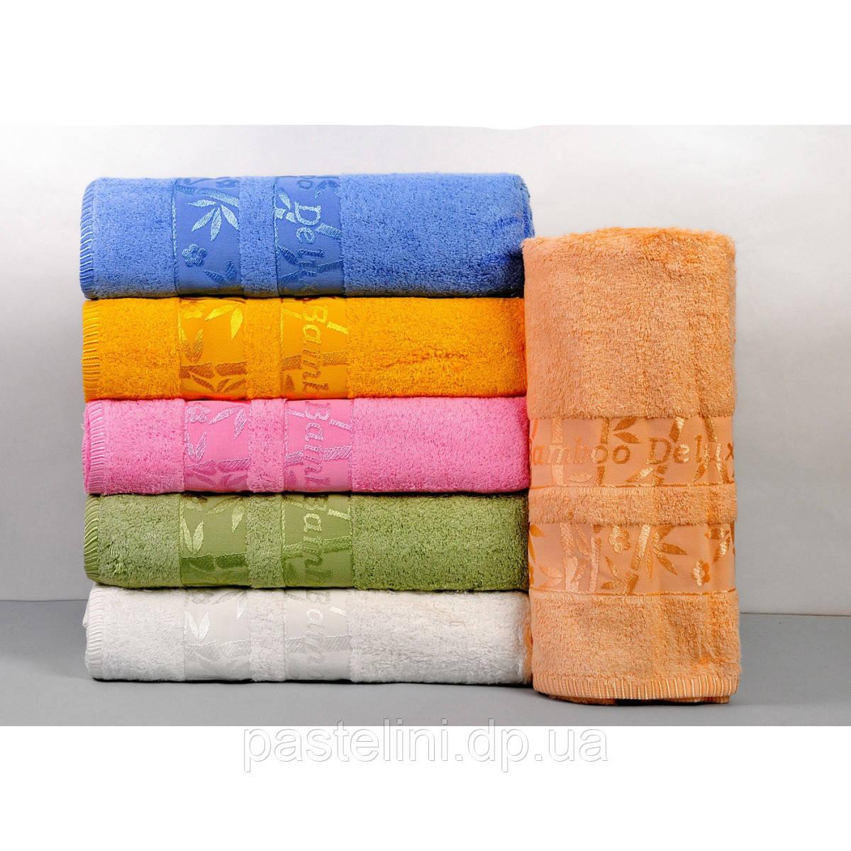 """Набор из 6-ти полотенец """"hanibaba"""" бамбук bamboo de luxe"""