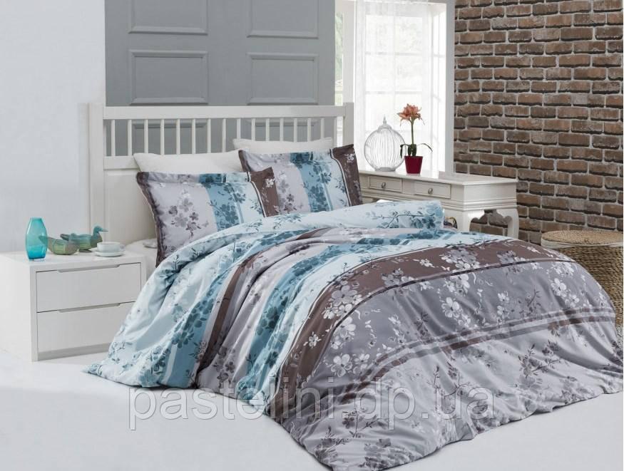 Altinbasak комплект постельного белья сатин люкс Catelin yesil