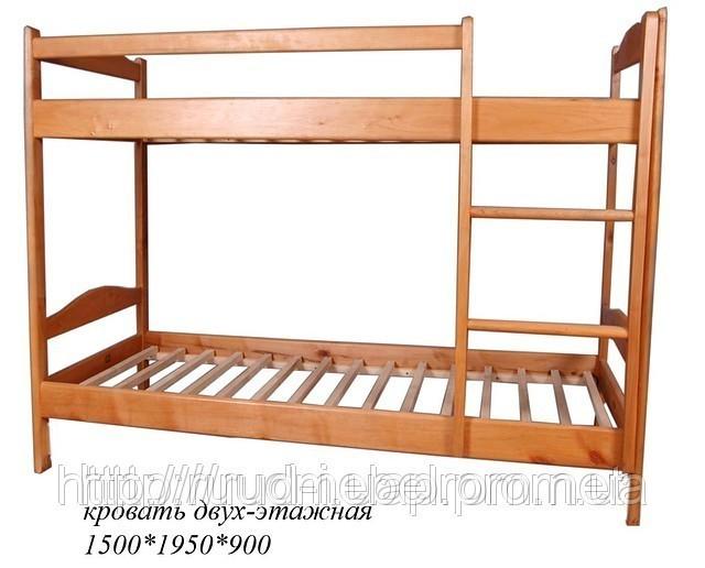 Детская двухъярусная кровать-трансформер со столом