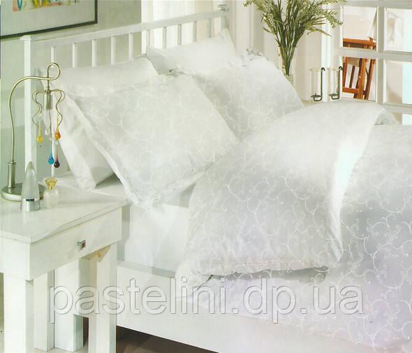 Комплект постельного белья Altinbasak сатин люкс Elis gri