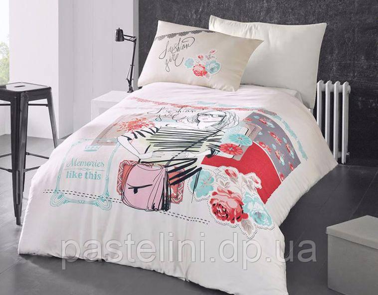 Комплект постельного белья First Choice ранфорс молодежный Elodie