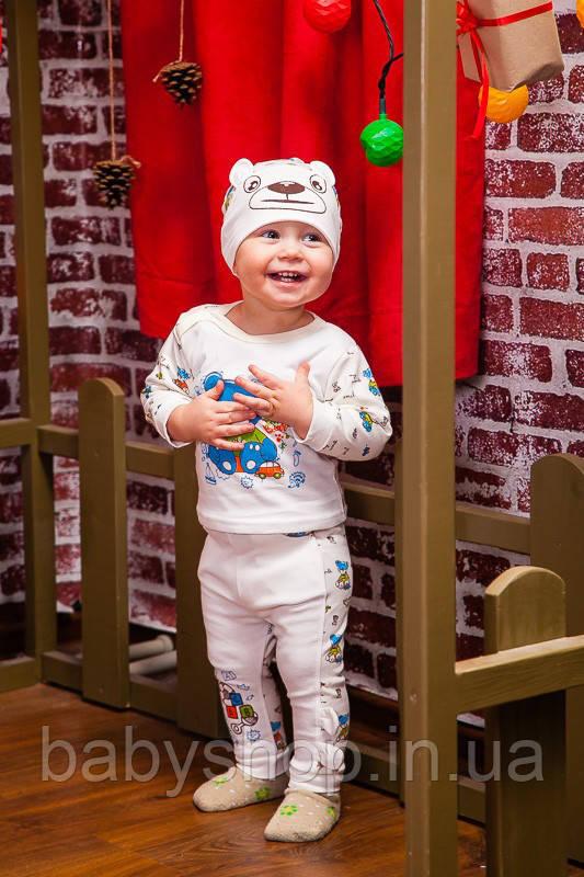 """Детский костюм для мальчика """"Ушастик"""" 1. Размер 20 ( 56 см), 22 (62 см)"""