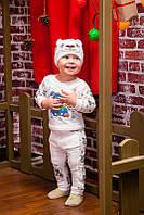 """Детский костюм для мальчика """"Ушастик"""" 1. Размер 20 ( 56 см), 22 (62 см), фото 1"""