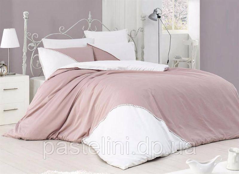 Комплект постельного белья First Choice бязь de luxe ranforce jenna pudra