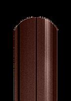 Штакет полукруглый, матовый полиестер, фото 1
