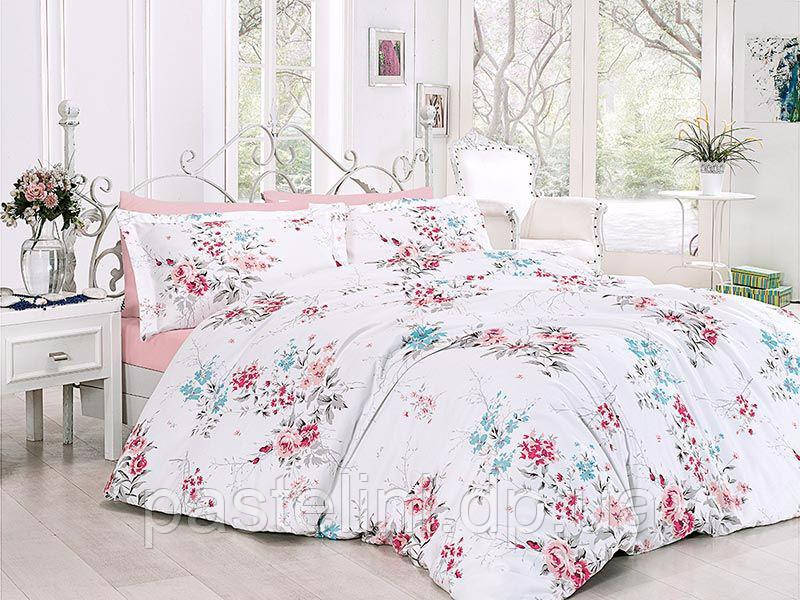 Комплект постельного белья First Choice сатин люкс leeana pembe