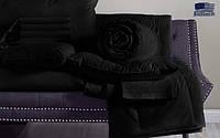Черное постельное белье сатин BOSTON Jefferson