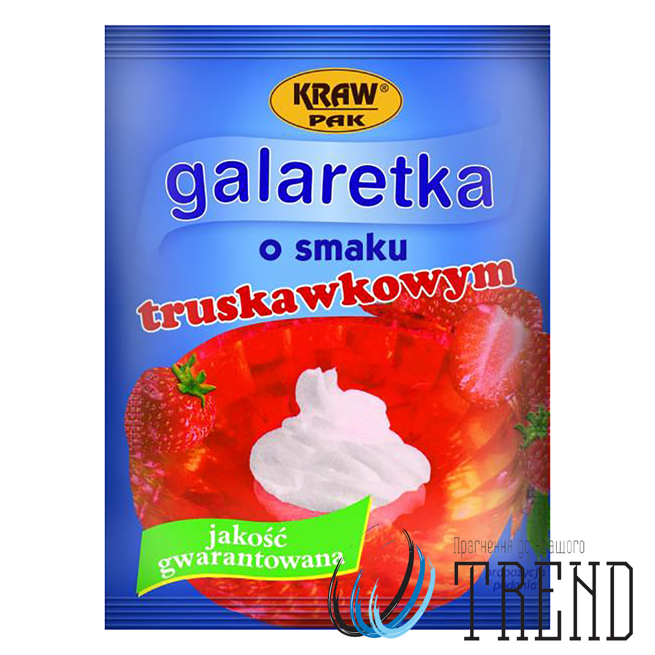 Желе Galaretka полуниця 90 гр.