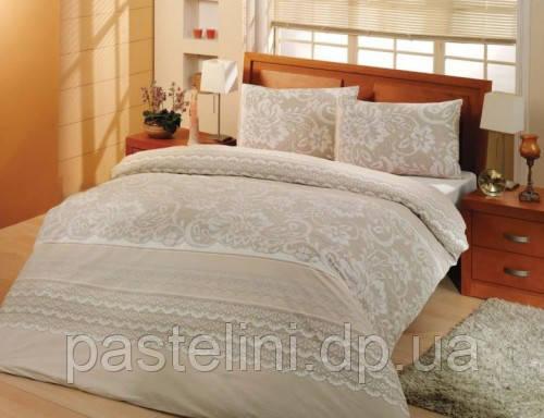 Altinbasak  постельное бельё   ранфорс natura cream