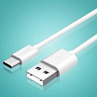 Capshi Type-C data cable 1 м кабель USB - USB type C white (белый), фото 1