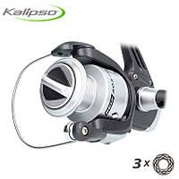 Безынерционная катушка Kalipso Reiz FD 303 (3000) 3bb для спиннинга, катушка рыболовная на щуку (на хищника)