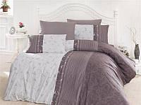 Комплект постельного белья First Choice de luxe Pанфорс цветной peitra