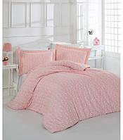 Комплект постельного белья Altinbasak сатин люкс Pretty pembe