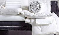 Белое постельное белье сатин BOSTON JEFFERSON