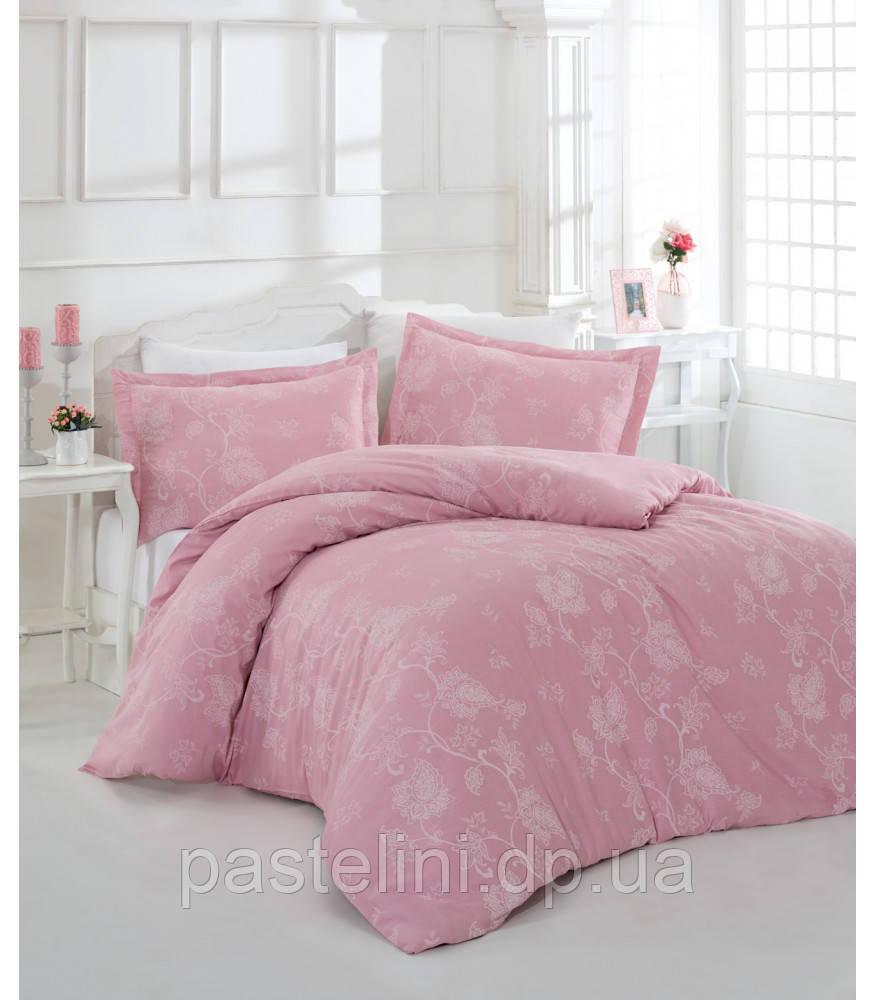 Комплект постельного белья Altinbasak сатин люкс Sehrazad pembe