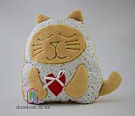 Декоративная подушка Белый Котик