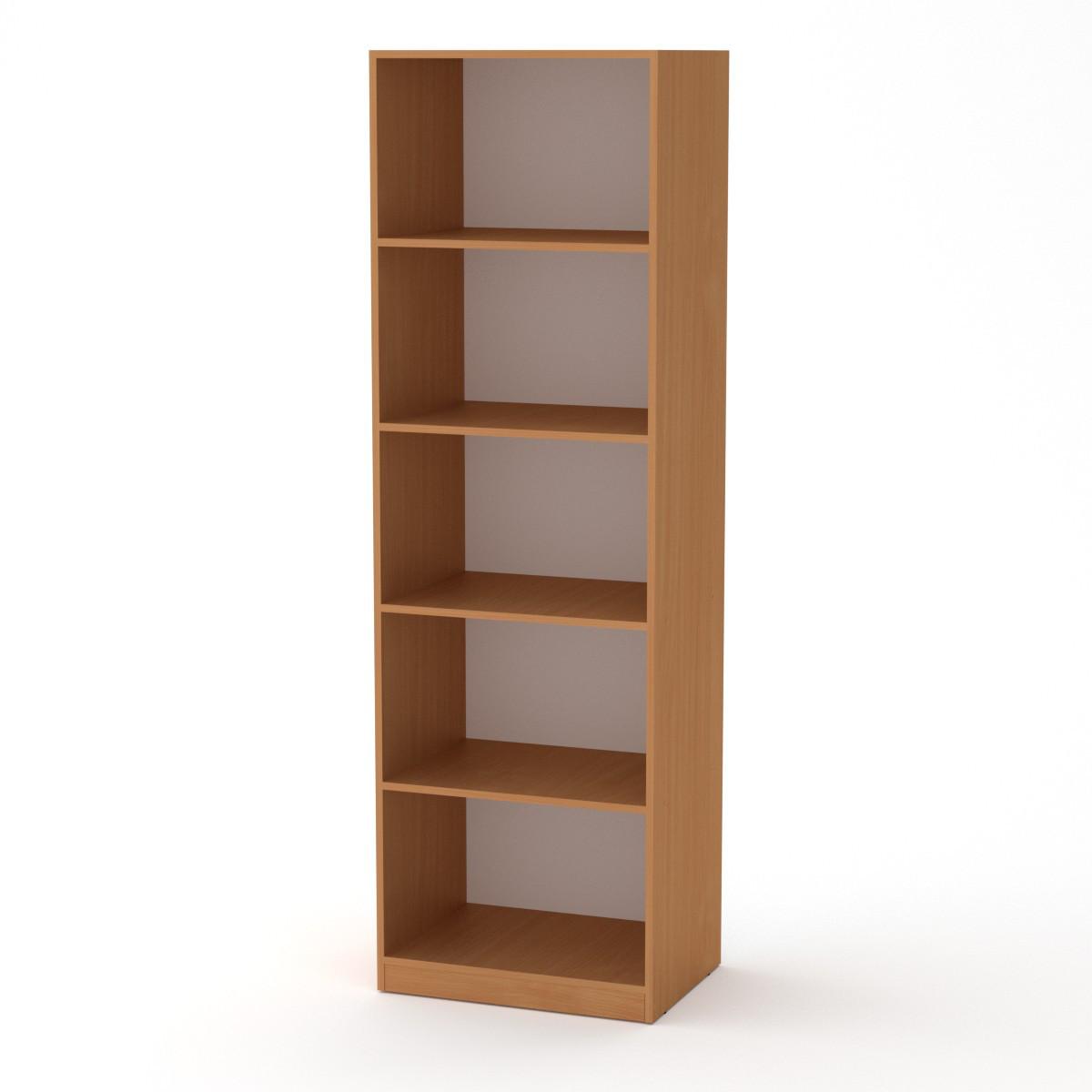 Шкаф книжный КШ-1 бук Компанит (61х45х195 см)