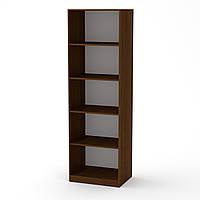 Шкаф книжный КШ-1 орех экко Компанит (61х45х195 см), фото 1