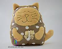 Декоративная подушка Коричневый Котик