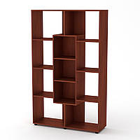 Шкаф книжный КШ-4 яблоня Компанит (110х35х174 см)