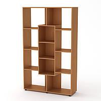 Шкаф книжный КШ-4 бук Компанит (110х35х174 см)