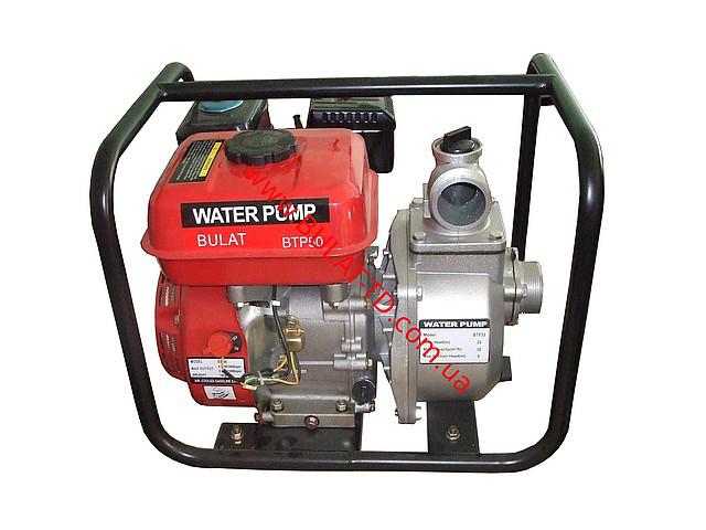 Мотопомпа бензиновая BULAT BTP50 (36м3/час)