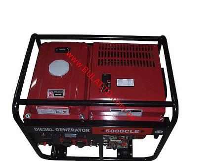 Дизельный генератор WEIMA(Вейма) WM5000CLE, фото 2