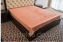 Простирадло Hanibaba бамбук махра 200x220 персик