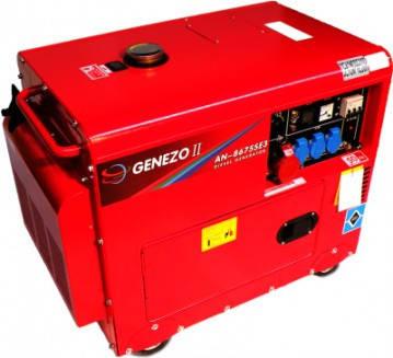 Дизельний генератор GENEZO II AN9675E3 (+ATS), фото 2