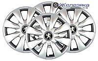 Автомобильные колпаки на колеса SKS/SJS R15 №316 Peugeot