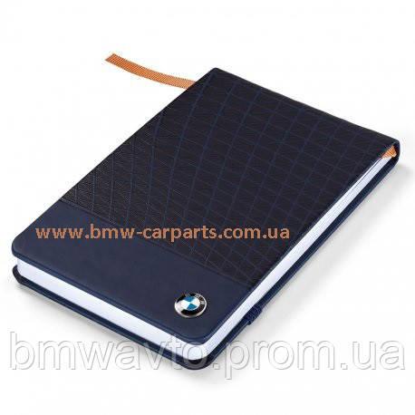 Маленький блокнот BMW Next 100 Notebook Hardcase Dark 2018