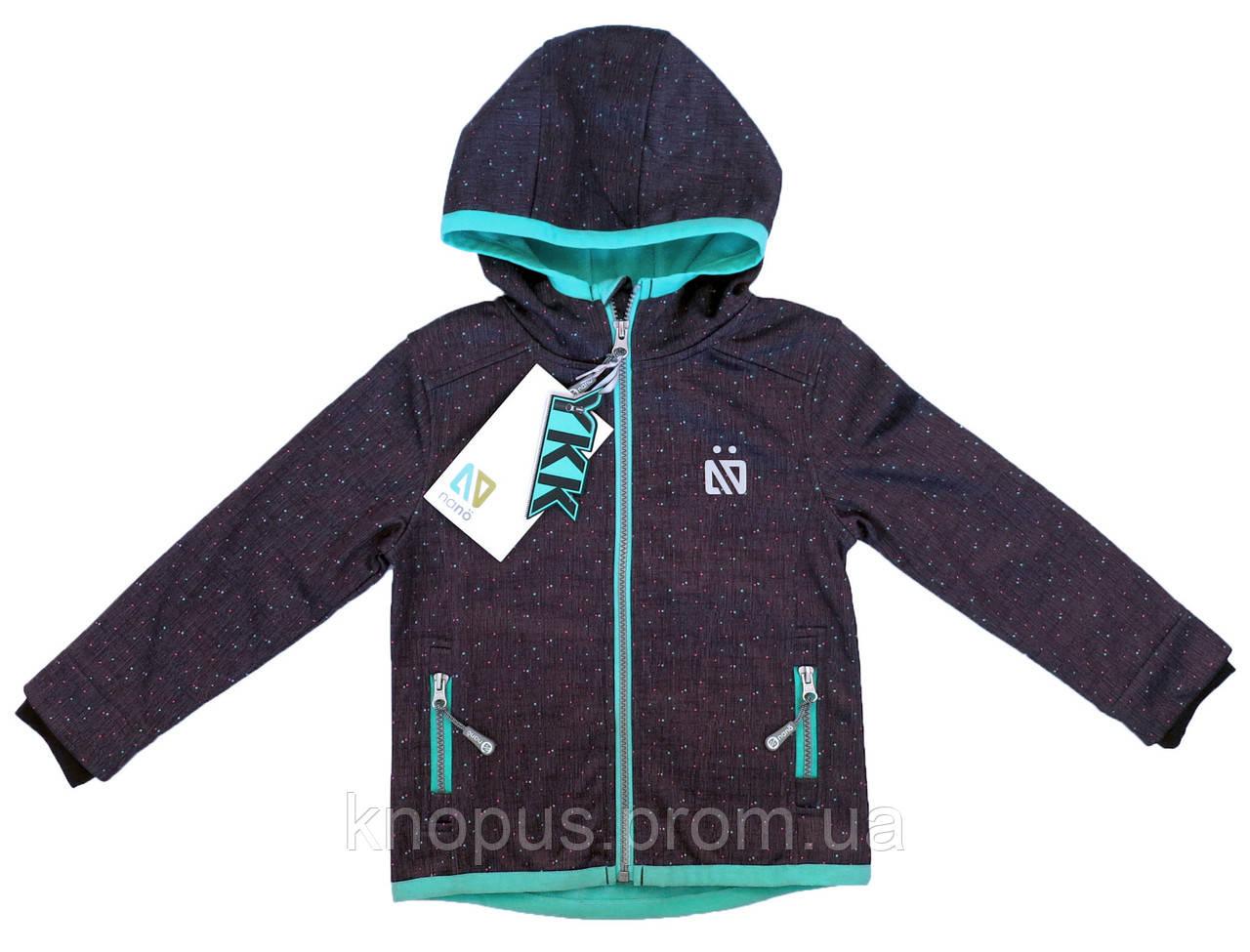 Демисезонная куртка SOFTSHELL, 1400 M S18, Mouse Confetti