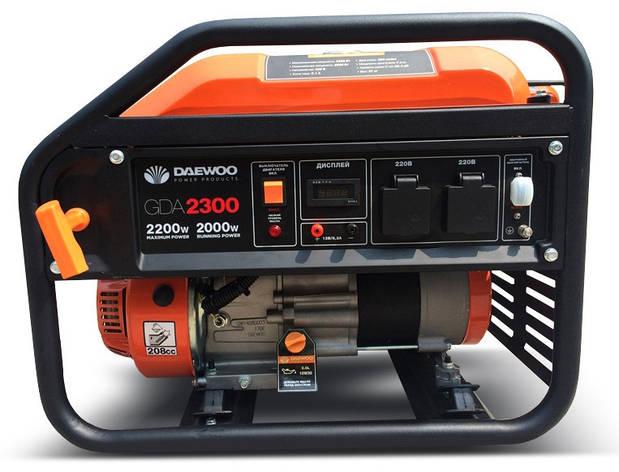Бензиновый генератор Daewoo GDA 2300, фото 2