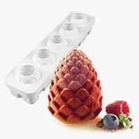 Форма силиконовая для муссовых тортов - Foresta - Ø 60 h 73 мм, фото 1