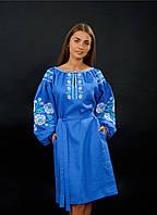 Платье вышиванка с карманами, арт. 4157