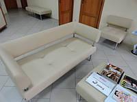 Перетяжка мягкой офисной мебели  Днепр., фото 1