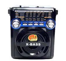Радиоприемник PX-295LED(USB.TF.SD,фонарик)