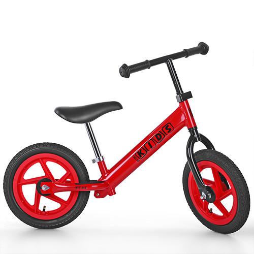 Беговел PROFI KIDS детский 12 д. M 3440A-3 (1шт) колеса резина.пласт.обод,красный