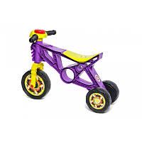 Детской мотоцикл Беговел Орион 171F Фиолетовый