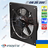 Осевой вентилятор ВЕНТС ОВ 2Е 200 (860 куб.м, 55 Вт)