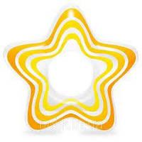 Детский надувной круг Звездочка INTEX 61 см