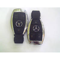 Корпус смарт ключа Mercedes рыбка новый тип 3 кнопки с 2011г