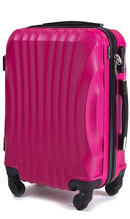 3780a38ae921 Ударопрочный чемодан пластиковый из поликарбоната малиновый WS951-32  средний 60 л, фото 2