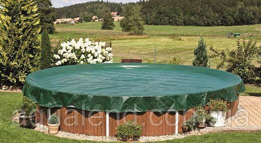 Захисне накриття для круглих каркасних і морозостійких басейнів діаметром 3,6 м, фото 2