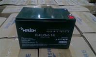 Аккумулятор тяговый 12V 12Ah AGM MERLION 6-DZM-12 M5 (под винтик) 10x10x15см