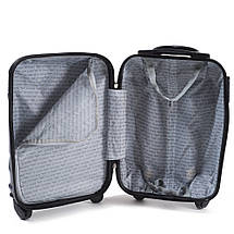 Эксклюзивный чемодан пластиковый из поликарбоната мятный WS951-41 большой 88 л, фото 3