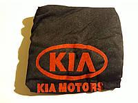 Чехлы на подголовники KIA черные (2шт)